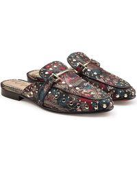 Sam Edelman - Embellished Slip-on Loafers - Lyst