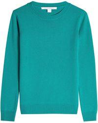 Diane von Furstenberg - Merino Wool Pullover With Cashmere - Lyst