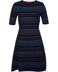 HUGO - Swany Knitted Dress - Lyst