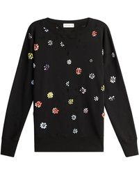 Faith Connexion - Embellished Cotton Pullover - Lyst