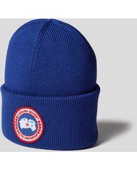Canada Goose Mütze mit Brand-Detail - Blau