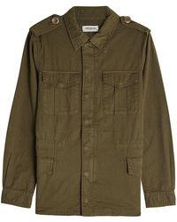 Zadig & Voltaire - Cotton Jacket - Lyst
