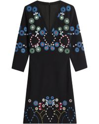Peter Pilotto - Dress With Emroidery - Lyst