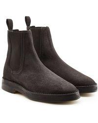 Yeezy - Suede Chelsea Boots - Lyst