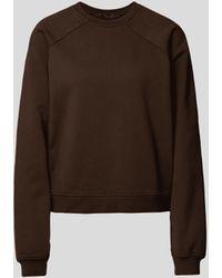 Haider Ackermann Sweatshirt mit Brand-Detail - Braun