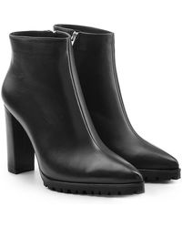 Anine Bing - Frances Leather Ankle Boots - Lyst