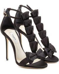 Olgana Paris - La Delicate 10 Satin Sandals - Lyst