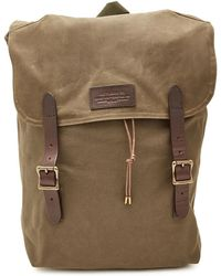 Filson - Ranger Cotton Backpack With Leather - Lyst