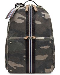 Valentino | Rockstud Canvas And Leather Backpack | Lyst
