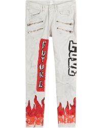 Faith Connexion - Printed Skinny Jeans - Lyst