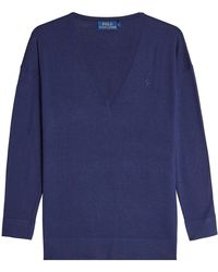 Polo Ralph Lauren - Silk And Cotton Pullover - Lyst