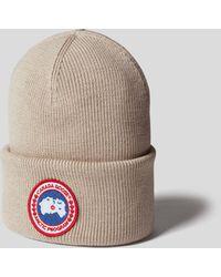 Canada Goose Mütze mit Brand-Detail - Mehrfarbig