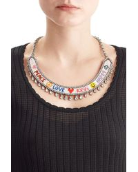 Shourouk - Happy Luck Necklace - Lyst