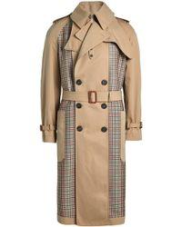 Alexander McQueen - Trench en coton avec laine et soie - Lyst