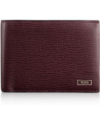 Tumi - Leather Wallet - Lyst