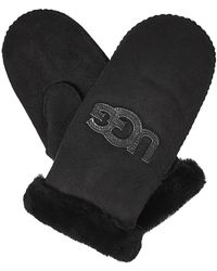 UGG - Lined Mittens - Lyst