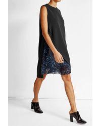 Lala Berlin | Sheath Dress With Printed Pleats | Lyst