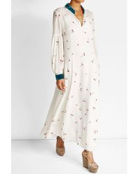 Ksenia Schnaider - Silk Maxi Dress - Lyst