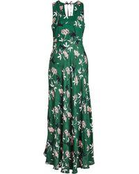 Markus Lupfer - Monkey Flower Crepe Dress - Lyst