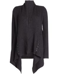 Autumn Cashmere - Cardigan With Cashmere And Wool - Lyst