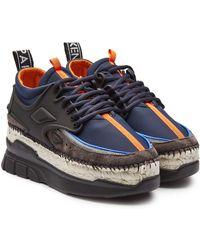 KENZO - K-lastic Espadrille Sneakers - Lyst