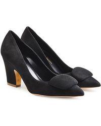 Rupert Sanderson - Suede Court Shoes - Lyst