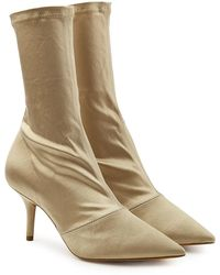 Yeezy - Satin Ankle Boots - Lyst
