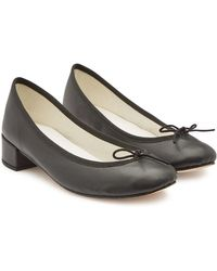 Repetto - Camille Leather Pumps - Lyst