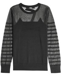 Karl Lagerfeld - Choupette Knit Pullover - Lyst