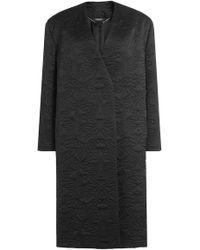 Alexander McQueen - Silk Coat - Lyst