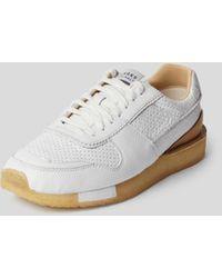 Clarks Sneaker aus Leder - Weiß