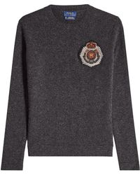 Polo Ralph Lauren - Pullover With Merino Wool And Cashmere - Lyst