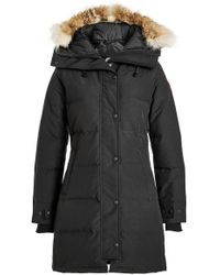 Canada Goose - Down Parka With Fur-trimmed Hood - Lyst