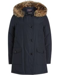 Woolrich - Arctic Parka With Fur-trimmed Hood - Lyst