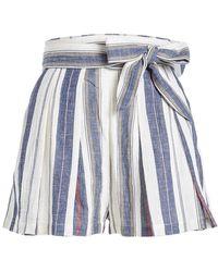Three Graces London - Kilman Cotton Shorts - Lyst