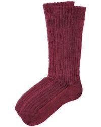 Etro | Ribbed Knit Socks | Lyst