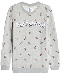Zoe Karssen | Printed Sweatshirt With Cotton | Lyst