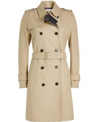 Closed - Planet Trench Coat - Lyst