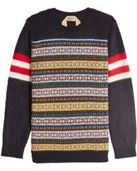 N°21 - Pullover With Wool And Mohair - Lyst