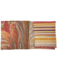Faliero Sarti - Circus Printed Scarf With Virgin Wool, Cashmere And Silk - Lyst