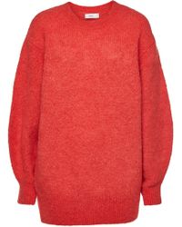 Closed - Oversized Pullover With Alpaca And Mohair - Lyst