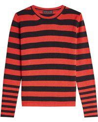 Etro - Striped Pullover With Wool And Cashmere - Lyst