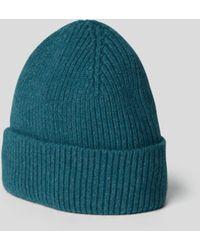 Le Bonnet Beanie aus Lammwoll-Angora-Mix - Blau