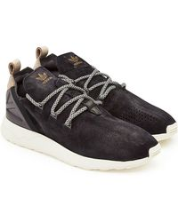 adidas Originals - Zx Flux Adv X Sneakers With Leather - Lyst