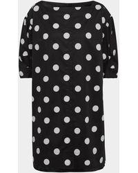 Marc Jacobs Kleid mit Allover-Muster - Schwarz