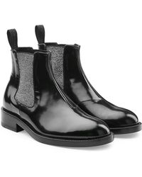 Christopher Kane | Dna Ankle Boots In Leather | Lyst
