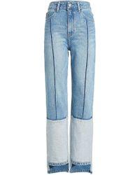 SJYP High-waisted Jeans - Blue