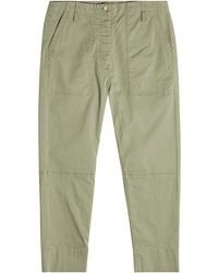 Theory - Spring Cargo Cotton Trousers - Lyst