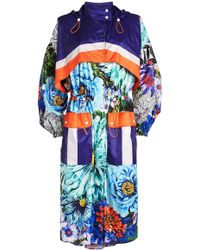 Mary Katrantzou - Speckle Printed Coat - Lyst