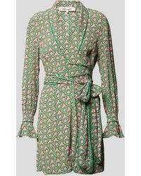 Diane von Furstenberg Playsuit mit Allover-Muster - Grün